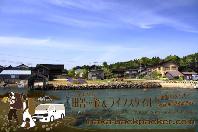 能登・穴水町岩車(石川県) - バックパッカーが移住した岩車の村 Village of  Iwaguruma, Noto, in Ishikawa Pref.
