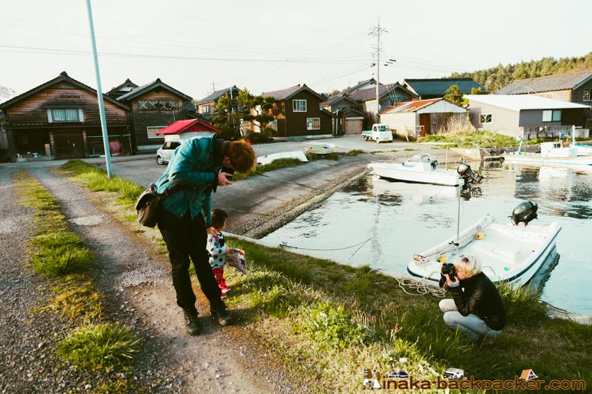 オランダ人 夫婦 穴水町 Dutch in anamizu ishiakawa