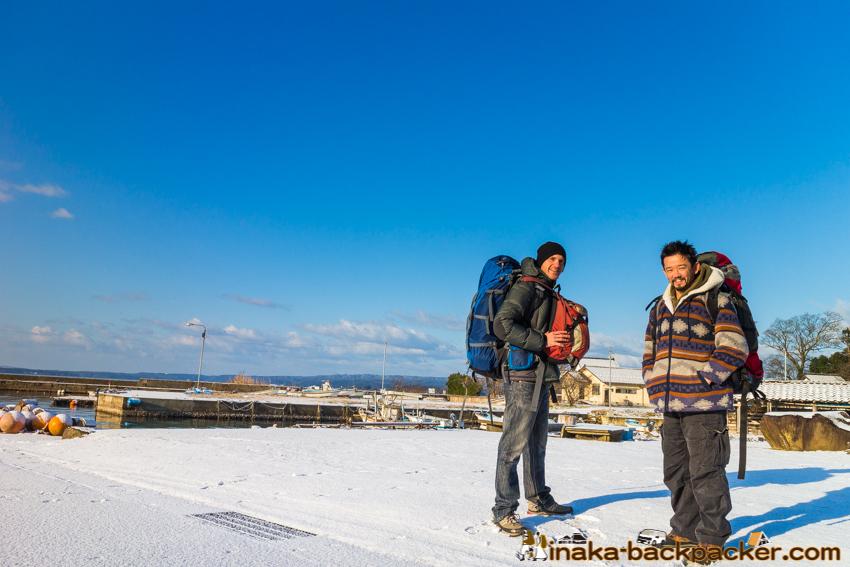 ドイツ 穴水町 石川県 german in ishikawa anamizu backpacker