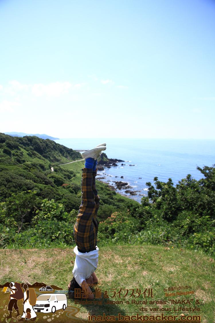 能登・珠洲市 椿展望台(石川県) - ついついヨガをしたくなる能登のスポット...「椿の展望台」
