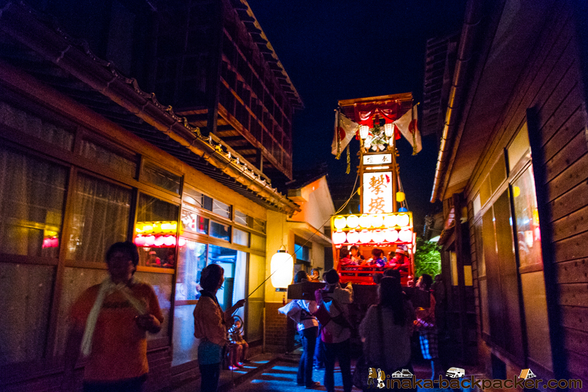 穴水町 キリコ祭り Kiriko festival in Noto Anamizu Town