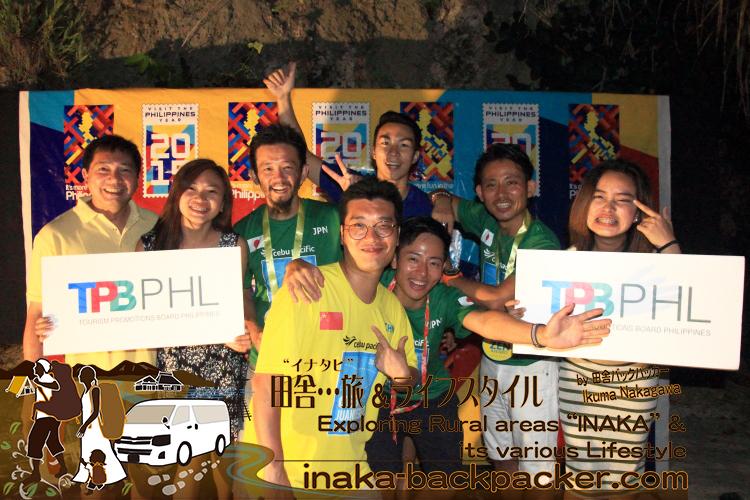 フィリピン政府観光省のマーケティング活動を担うフィリピン観光振興局のスタッフと、ぼくらブロガーたち