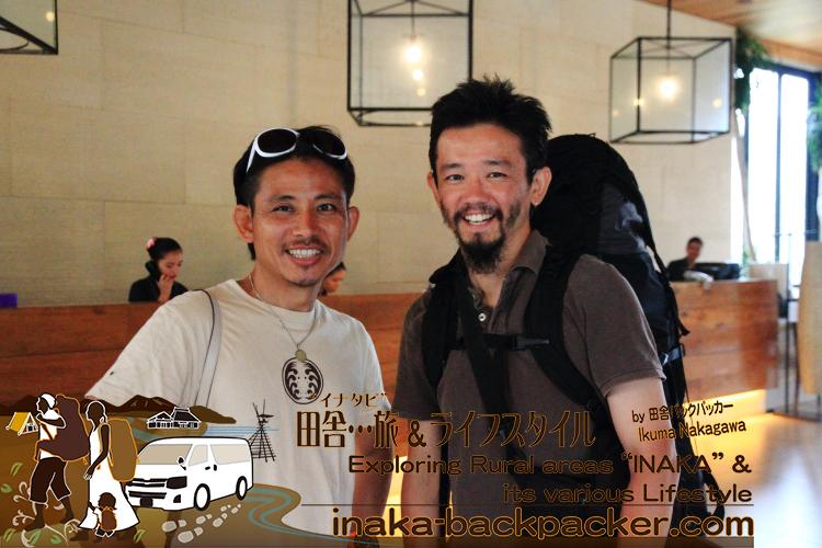 フィリピン・ボラカイ島のFairways and Bluewater Hotel(フェアウェイズ & ブルーウォーターホテル)で、日本チームのKyahさんとお別れ。