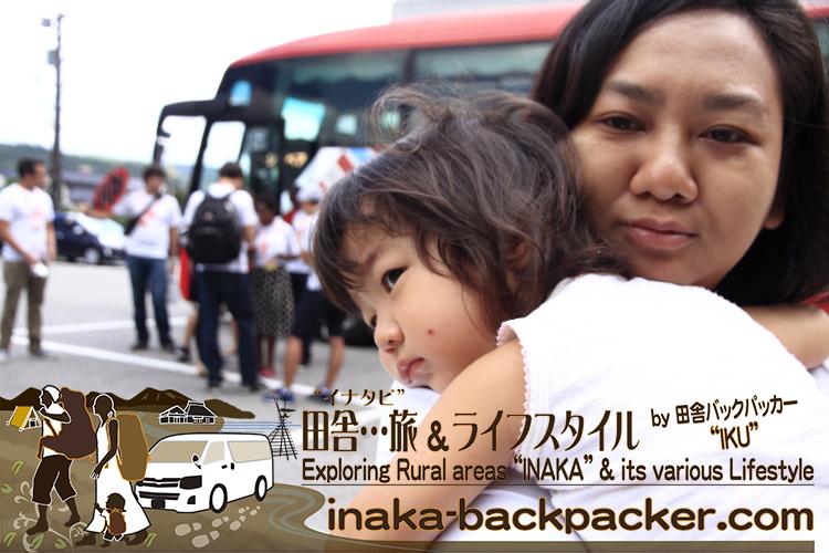 能登・穴水町(石川県) - 娘・結生もミャンマーのワーワー、中国のシンシンとのお別れを悟ったのか...なんども二人に抱き付いていたよ。