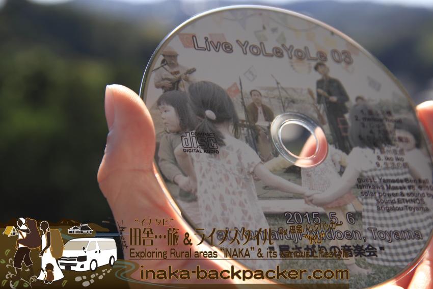 上田耕平くんのYoLeYoLe(ヨレヨレ)のライブ版CD。いい感じの心和む音...