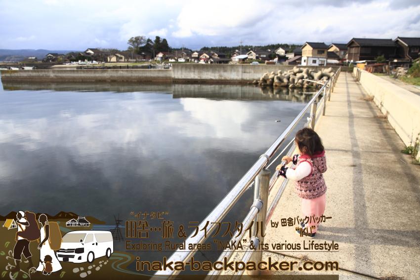 能登・穴水町岩車(石川県) - この海岸沿いの散歩コースが気持ちい。海が綺麗。