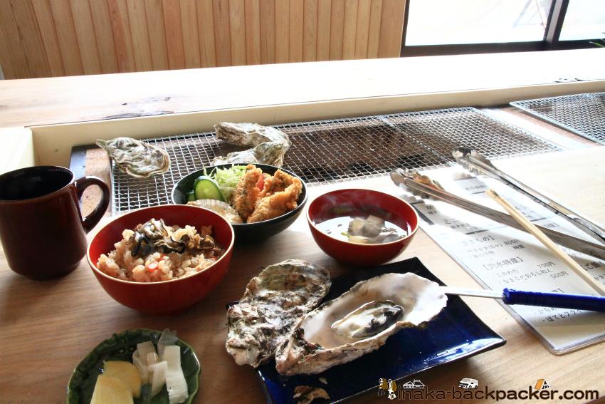 穴水町 牡蠣食堂 コーストテーブル フルコース