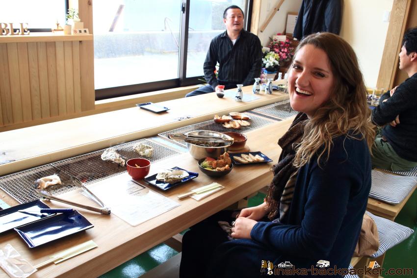 能登 穴水町 牡蠣食堂 コーストテーブル Ishikawa Oyster restaurant Coast table