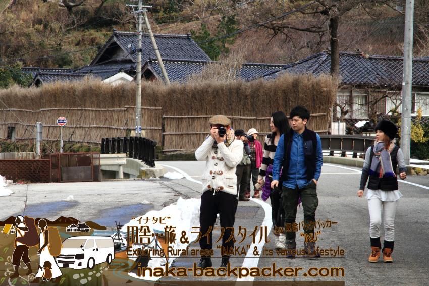 能登・輪島市大沢村 - NHK朝の連続テレビ小説「まれ」のメイン・ロケ地。