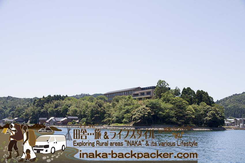 能登・七尾市中島町(石川県) - 泉質は、和倉温泉と同じと言われてる。国民宿舎 能登小牧台の温泉。
