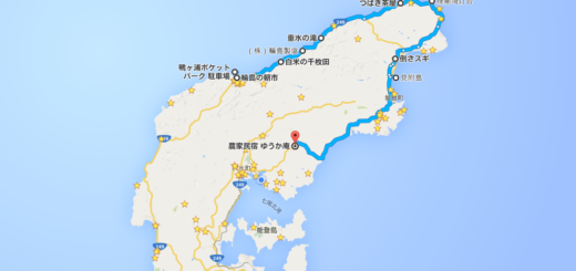 奥能登一周 地図 map of noto sightseeing spot map