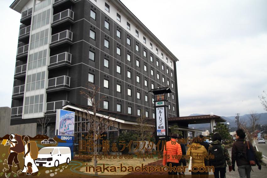 能登・輪島市(石川県) - 7:45ごろ、「ホテルルートイン輪島」でみんなと待ち合せて、まずは朝市へ向かった。