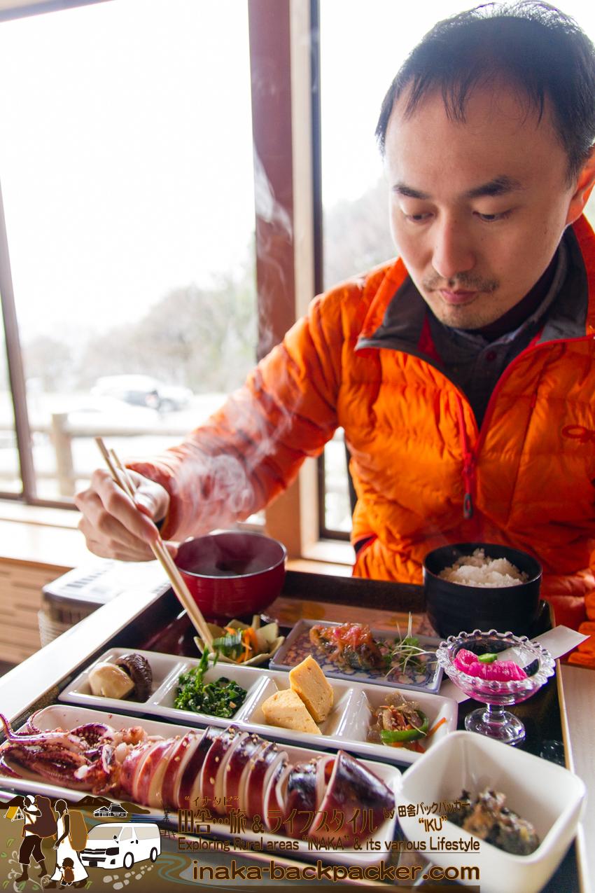 石川県 能登半島 珠洲 食堂 昼食 ランチスポット ishikawa noto suzu lunch tsubaki chaya great sea food