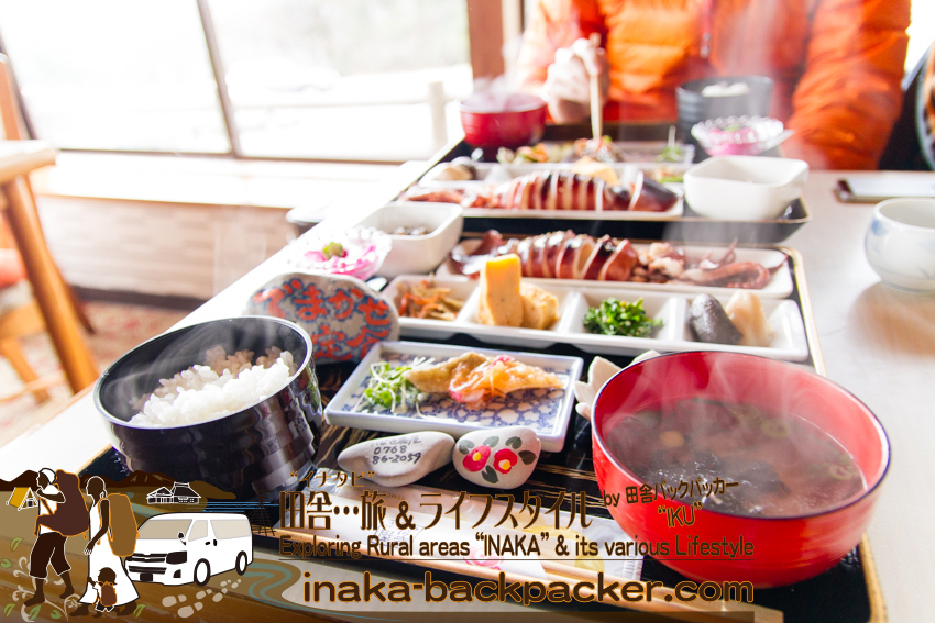 つばき茶屋 ランチスポット さいはてにて ロケ地 でまかせ定食 suzu tsubaki chaya demakase lunch