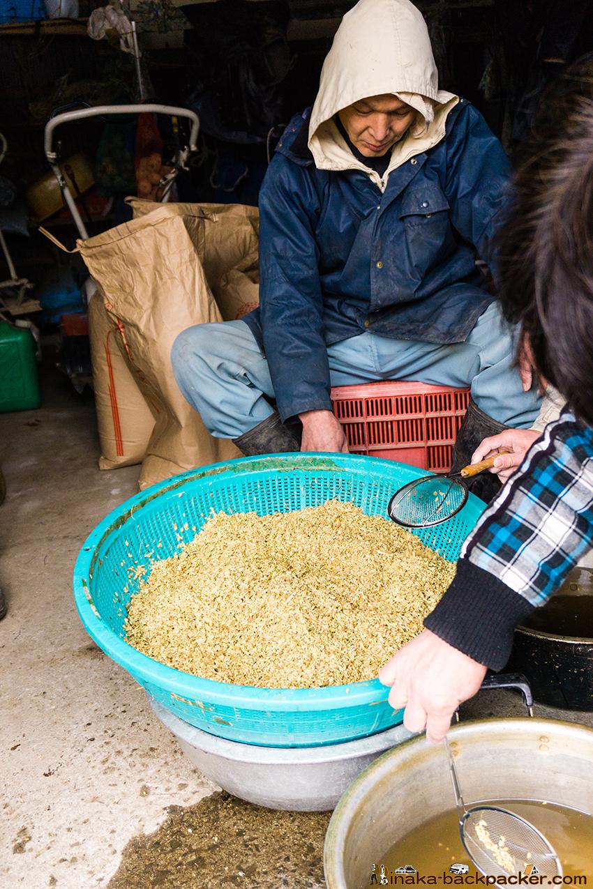 龍昌寺米 田植え Ryushoji temple rice in Yoromi Wajima