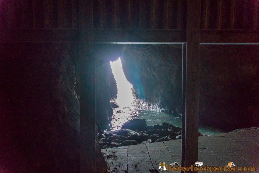 Lamp no Yado Blue Cave  sanctuary cape in Ishikawa Noto Japan 石川県 珠洲市 能登 ランプの宿 青の洞窟 聖域の岬