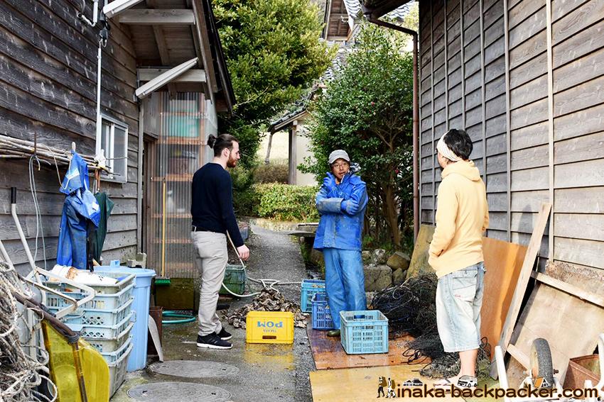 Ishikawa Noto Anamizu oyster fisherman 石川県 能登 穴水町 牡蠣 漁師