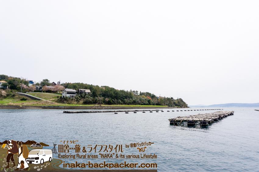 穴水町の穏やかな海