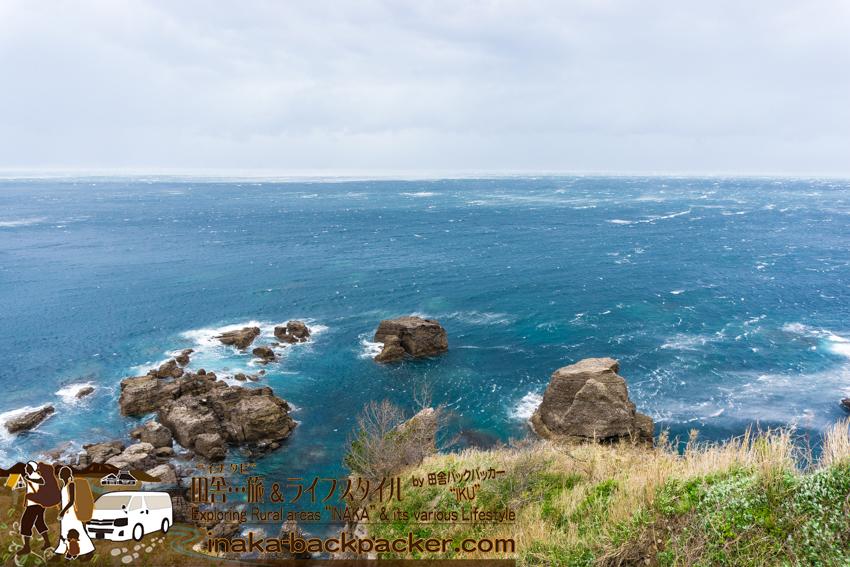 輪島 4月過去最大の暴風 海荒れる