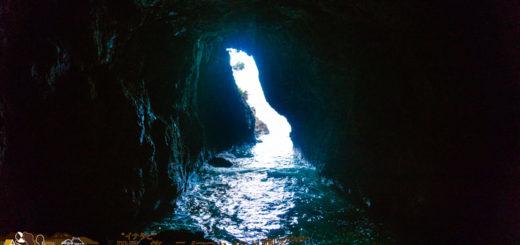 聖域の岬 青の洞窟 青いのか blue cave in Japan sanctuary cape
