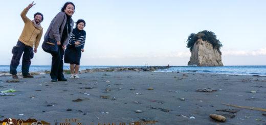 能登の見附島 珪藻土島