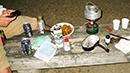 camp in japan 日本 キャンプ 公園 食事 バックパッカー