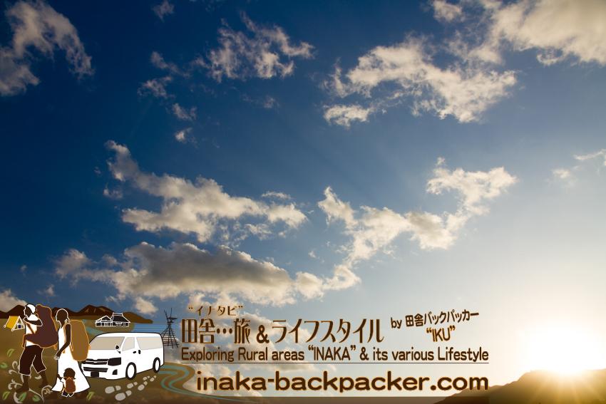 石川県輪島市 - 朝焼けの雲。純粋にきれだな~って思うほかない。
