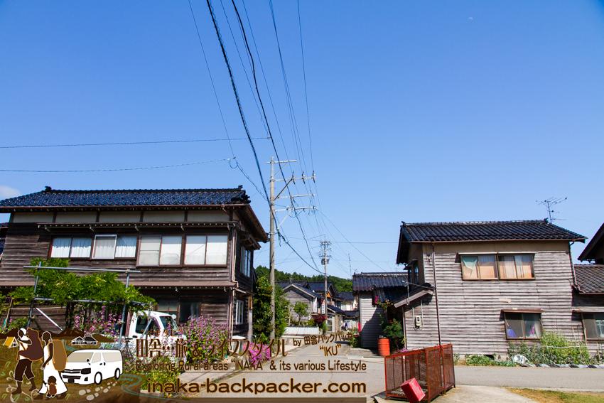 能登 穴水町 岩車 海辺の綺麗な村 田んぼ Ishikawa Anamizu Iwaguruma beautiful Village ocean rice field