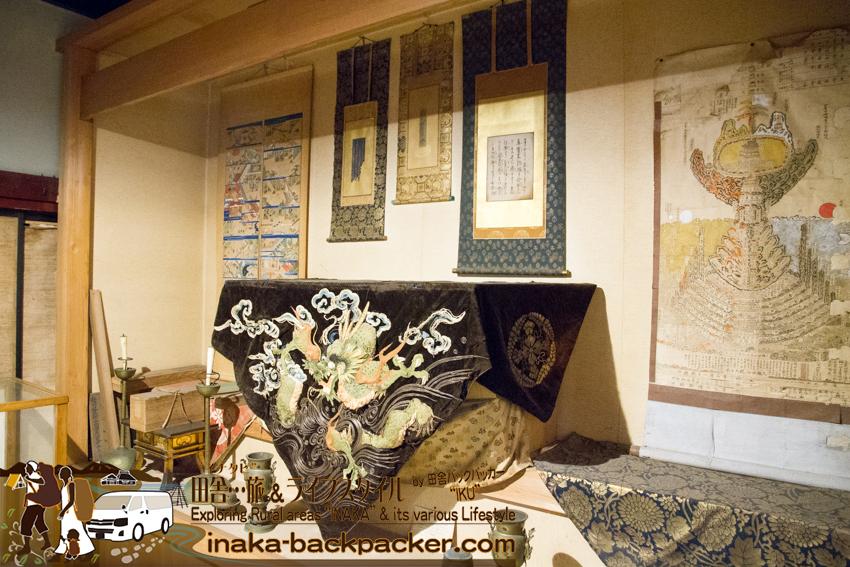 中谷家の歴史ある展示物
