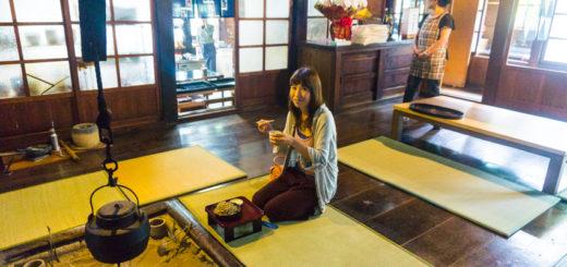 soba noodle in Notocho Wajima Ishikawa 中谷家 能登町 輪島 穴水 蕎麦 そばきり 仁 中谷家