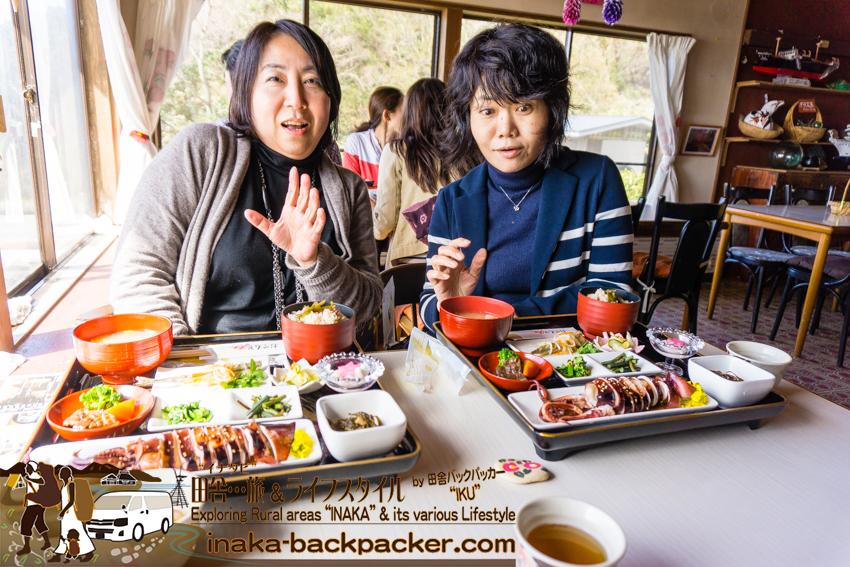 田舎体験 浦和恭子さんと袖野安代さん