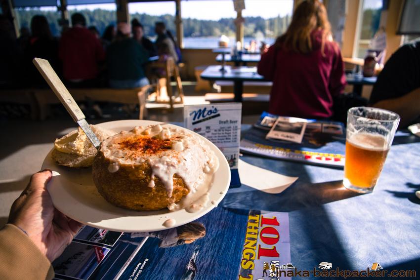 オレゴン フローレンス Mos クラムチャウダー clam chowder