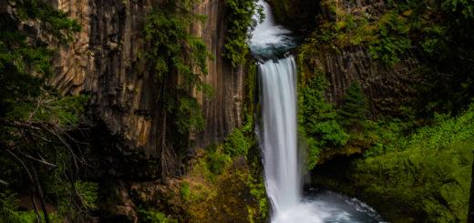 Toketee Falls オレゴン トケッティー滝