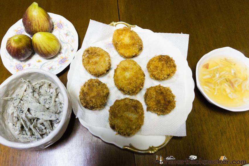 田舎暮らし 200円 料理 畑 コロッケ 食材