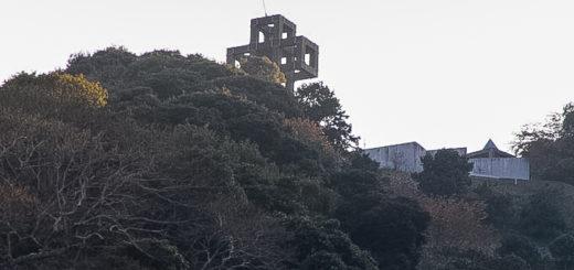 熊本県 天草市 崎津 十字架 モニュメント バックパッカー 田舎旅