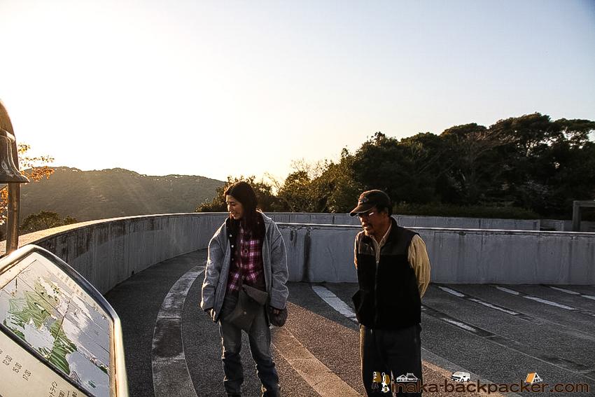 熊本県 天草市 崎津 十字架 モニュメント 眺め バックパッカー 田舎旅