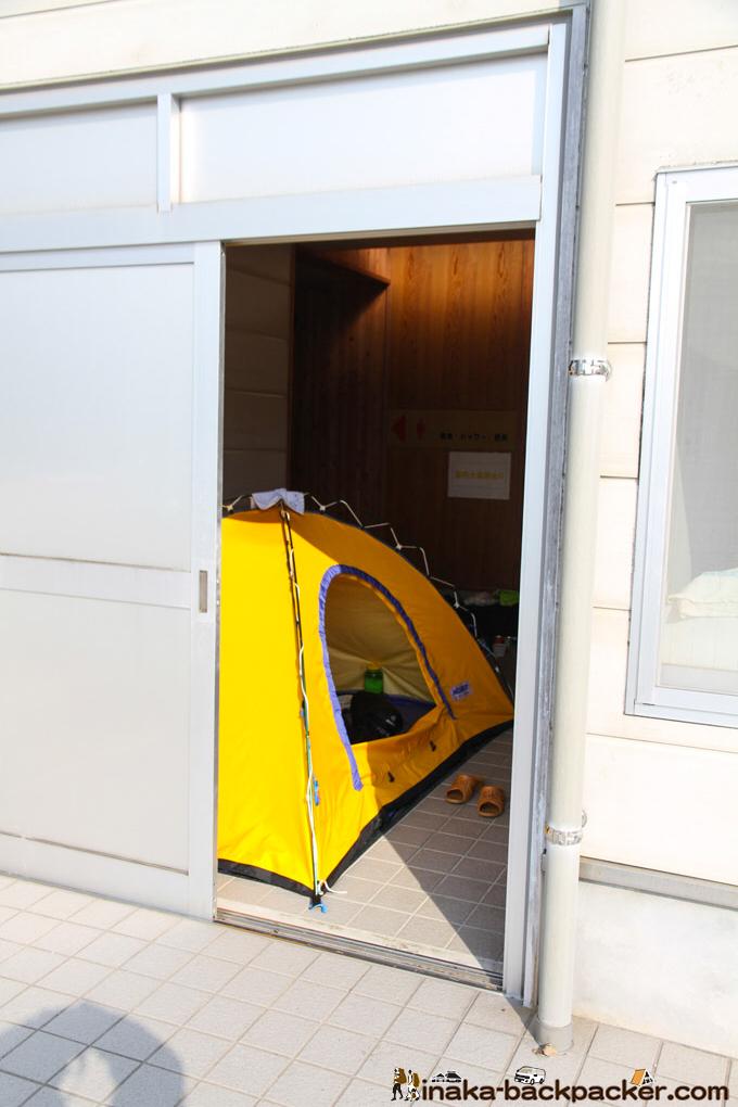 熊本県 天草 テント泊 野宿 小高浜海水浴場 トイレ