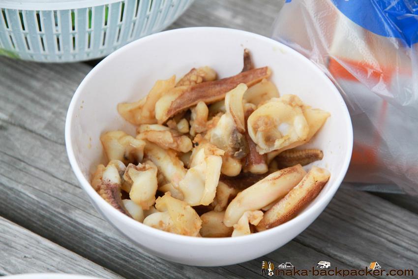 熊本 天草 アオリイカ バター焼き kumamoto amakusa bigfin reef squid