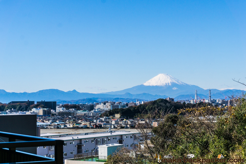 鎌倉 富士山 眺め