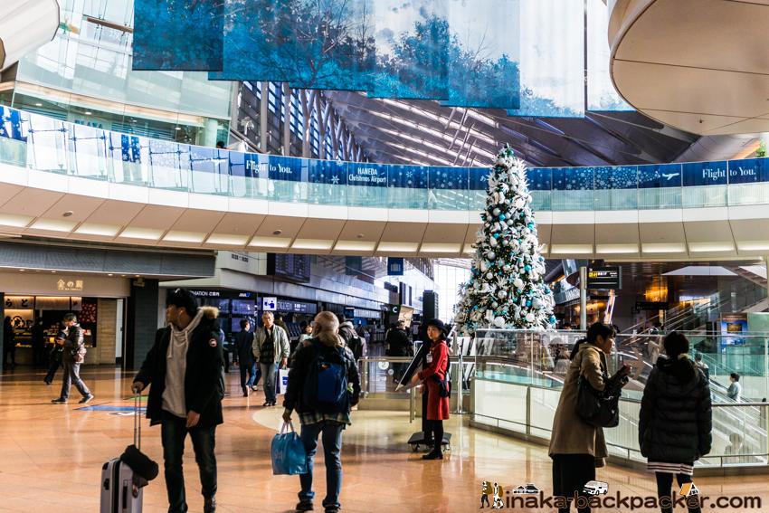羽田空港 クリスマスツリー