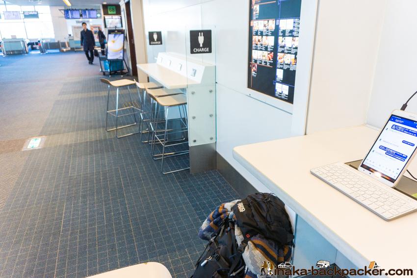 羽田空港 仕事 デスク USBチャージャー ケーブルのみ