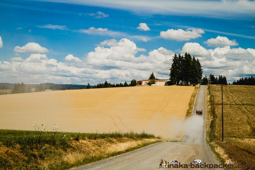 オレゴン シルバー フォールズへの寄り道