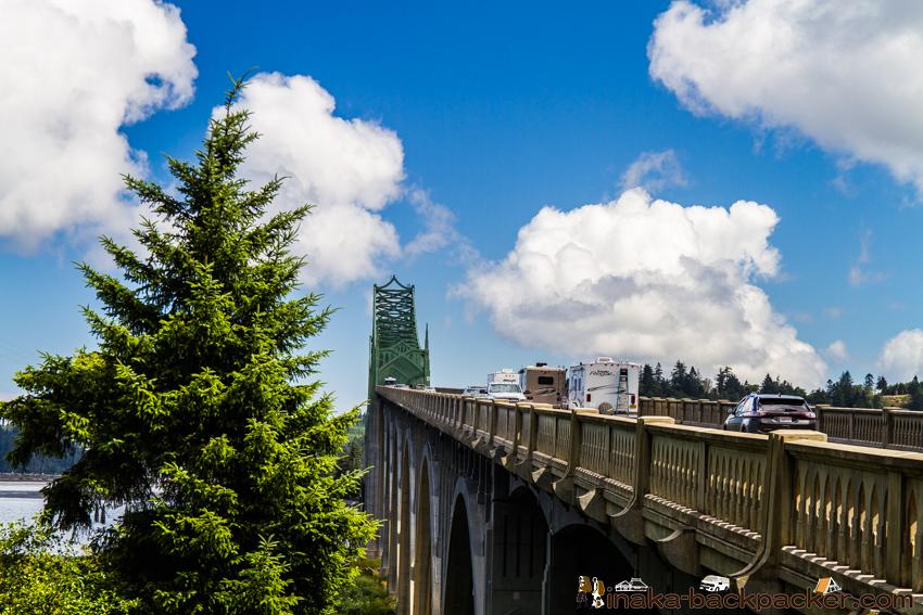 オレゴン クースベイ 橋 Oregon Coosbay Bridge