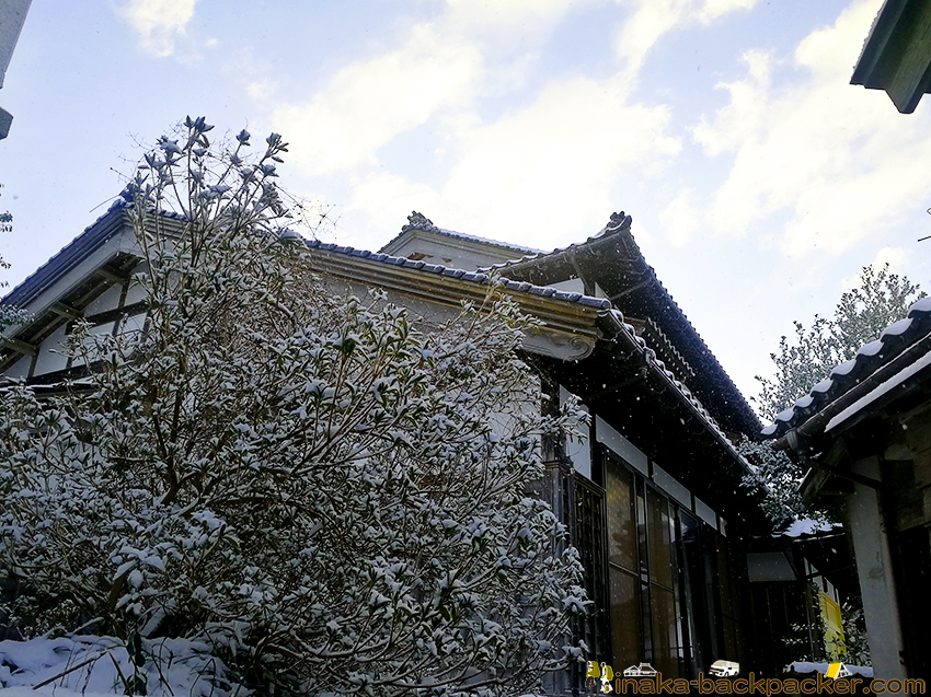 穴水町 岩車 雪 積雪