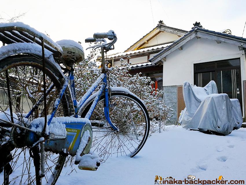 田舎 地方  懐かしさを感じるナショナル製の自転車