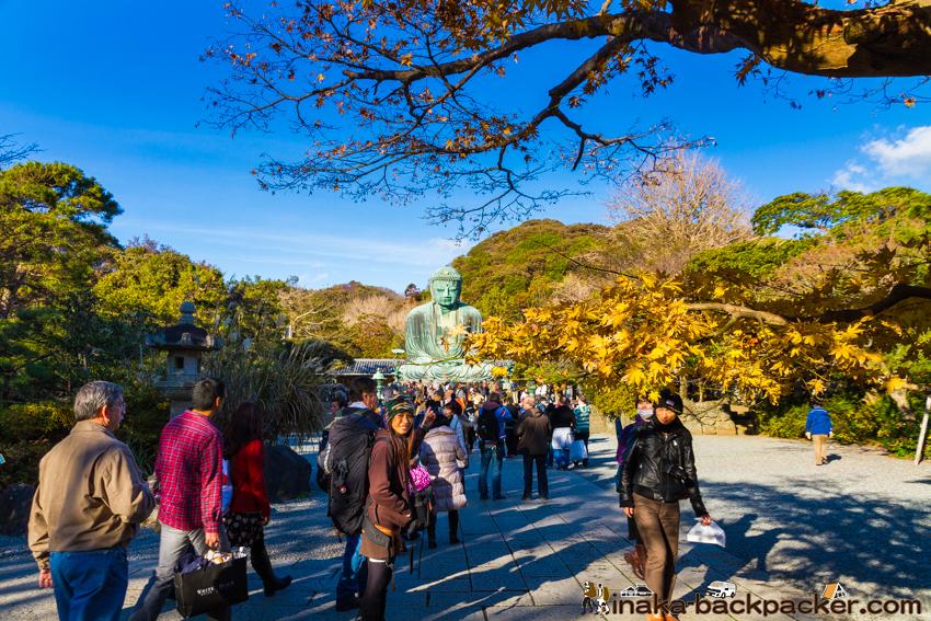 鎌倉 大仏 バックパッカー Backpacking in Kamakura, Japan. How to walk in Kamakura