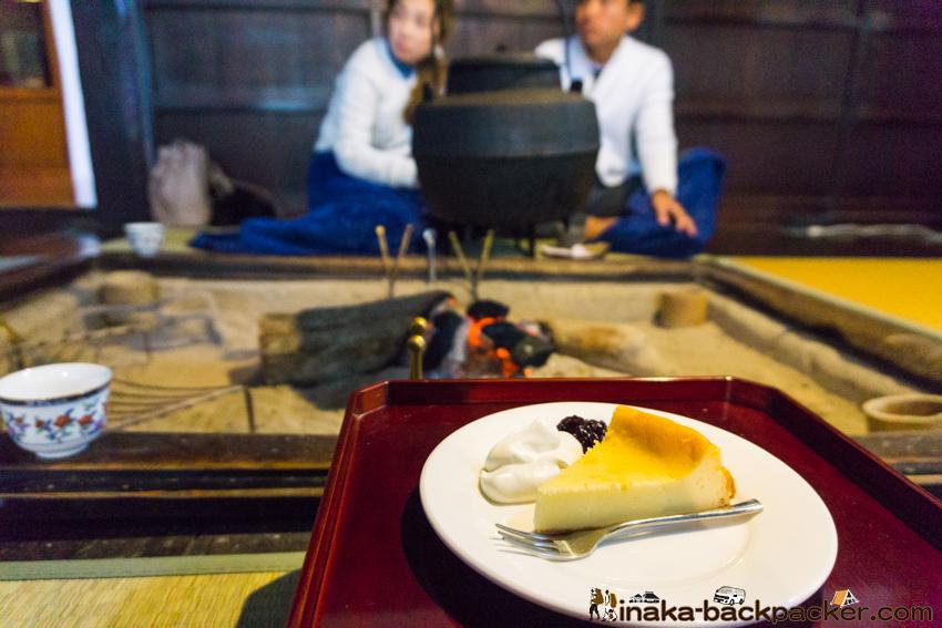 中谷家 蕎麦 そばきり仁  チーズケーキ Japanese Historical House