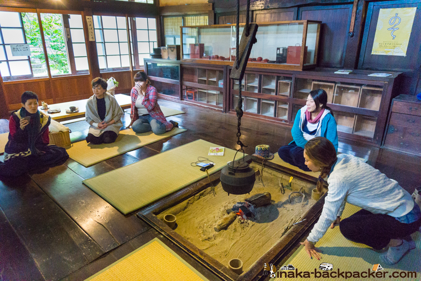 中谷家 蕎麦 そばきり仁 田中秀宗 kyah Japanese Historical House noodle soba in Noto Peninsula Noto Town