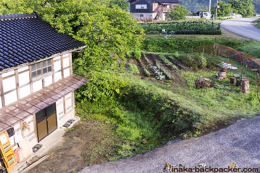 バックパッカー 田舎暮らし 畑