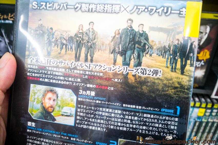 コナー・ジェサップ DVD falling skies フォーリングスカイズ